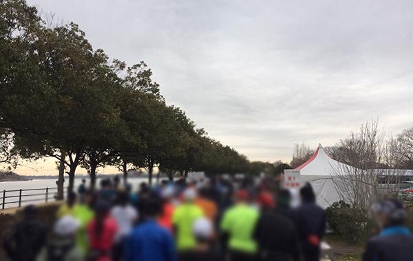 ベジタブルマラソンのハーフマラソンの部に参加