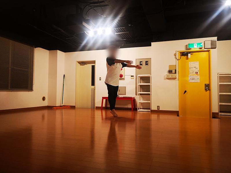 ダンス部活動写真