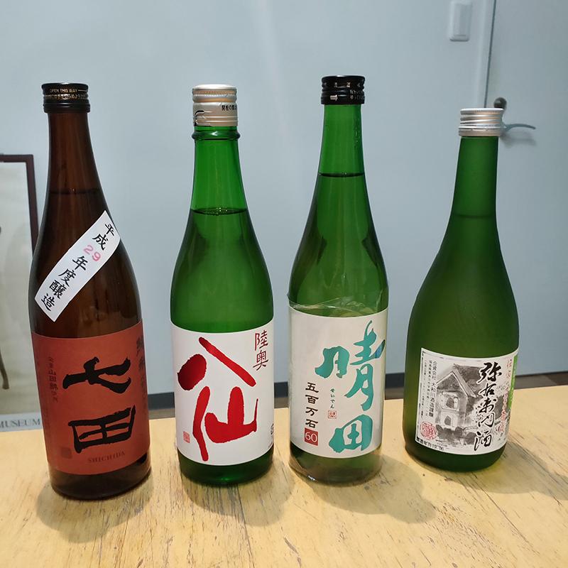 純米酒しばり