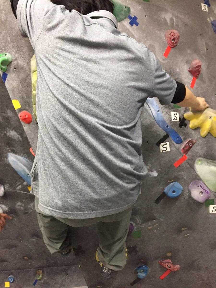 ボルダリング挑戦中③