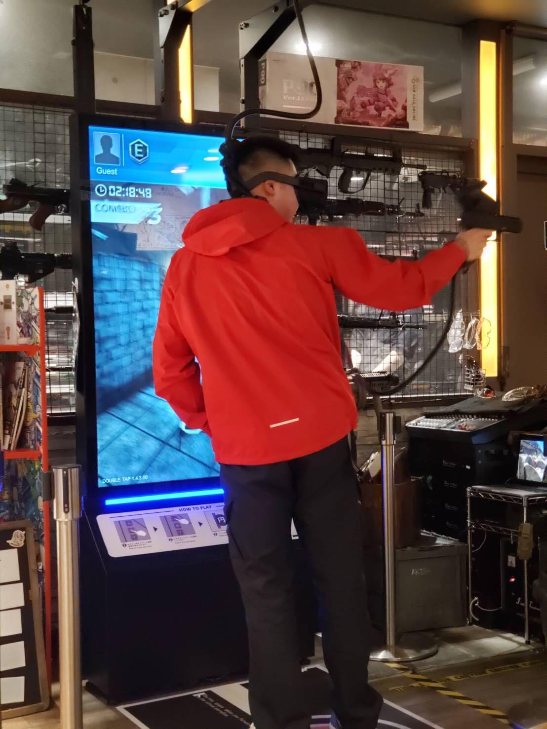 VRシューティングゲーム