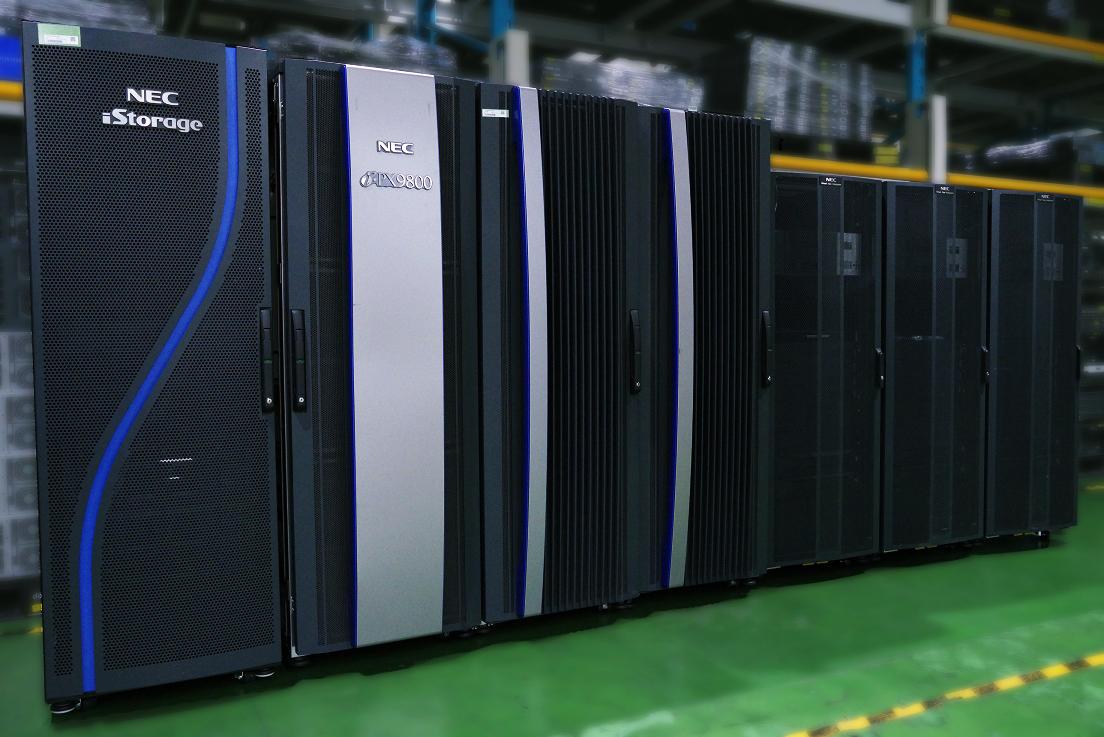 NEC「ACOSシリーズ」i-PX9800(2012年販売開始)