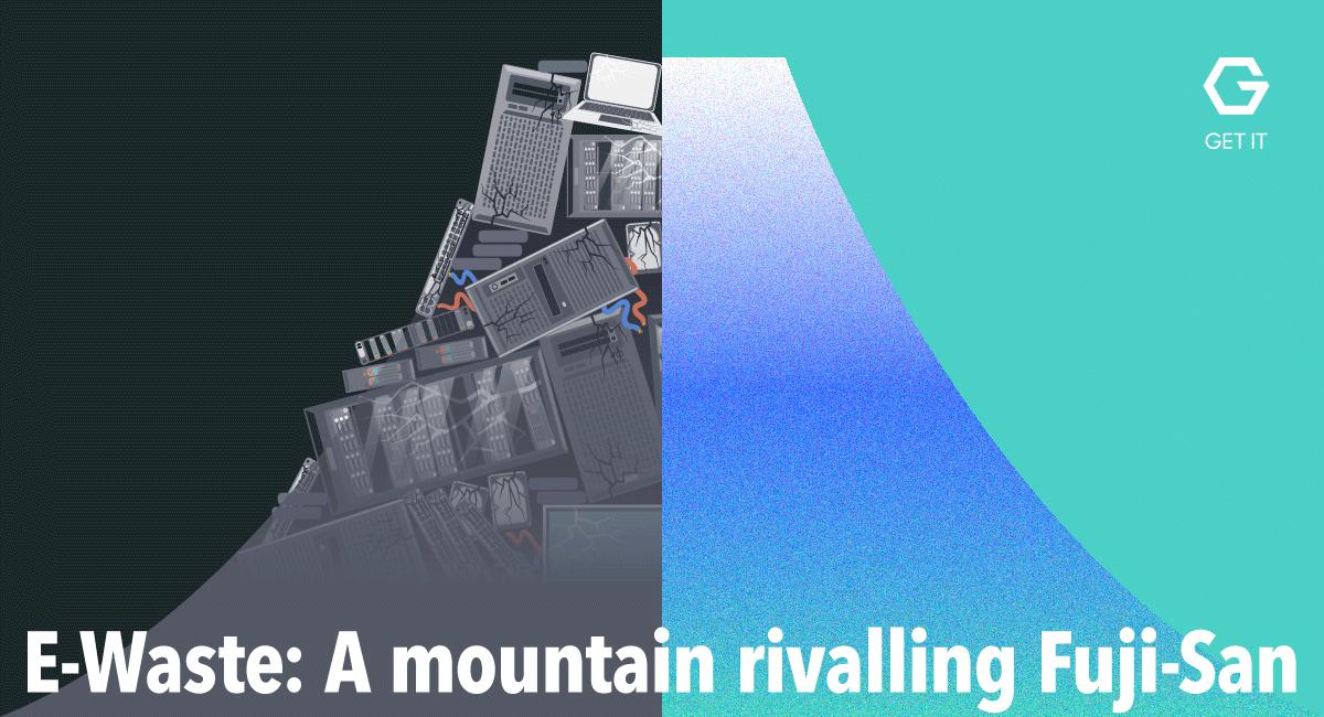 E-Waste: A mountain rivalling Fuji-San